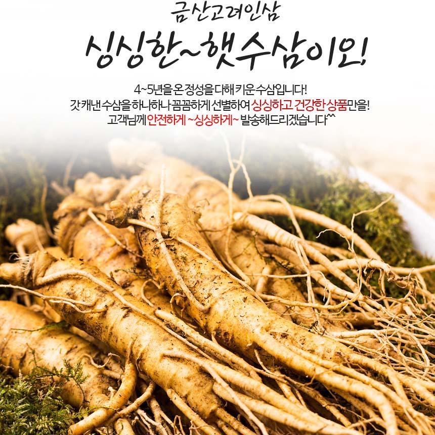 Nhân Sâm củ Tươi Hàn Quốc 6 Năm Tuổi
