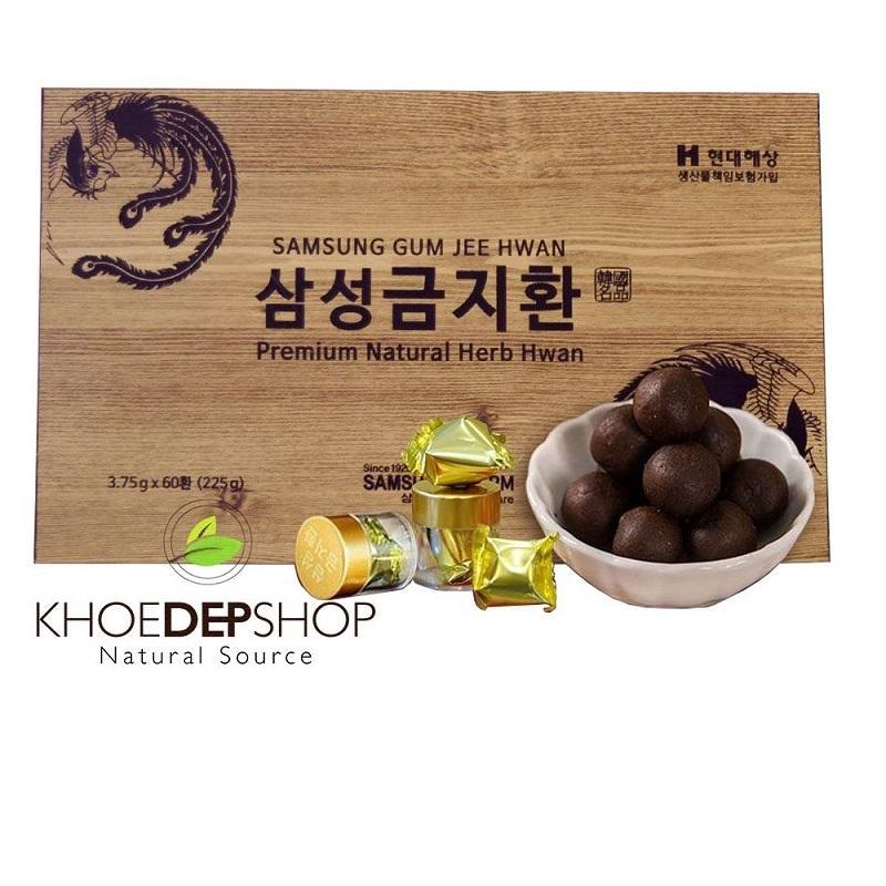 Bổ Não Gum Jee Hwan Hàn Quốc - 60 viên x 3.75g