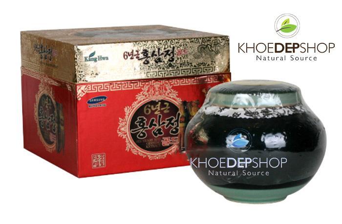 Cao hồng sâm Hàn Quốc hộp sứ xanh 1kg/ quà biếu thượng hạng