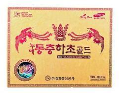 Đông Trùng Gỗ Vàng Kanghwa Hàn Quốc 60 gói