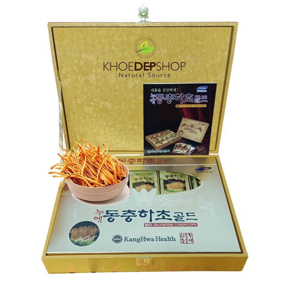 Đông Trùng Gỗ Vàng Kanghwa Hàn Quốc - 60 gói x 30ml
