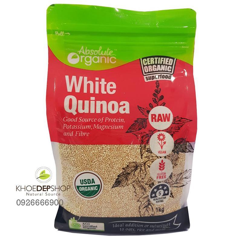 Hạt Diêm Mạch White Quinoa Úc 1kg