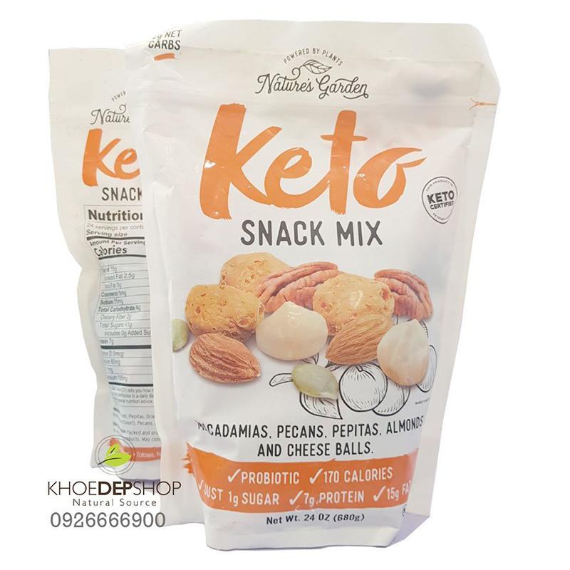 Hạt Tổng Hợp Keto Snack Mix Mỹ 680g