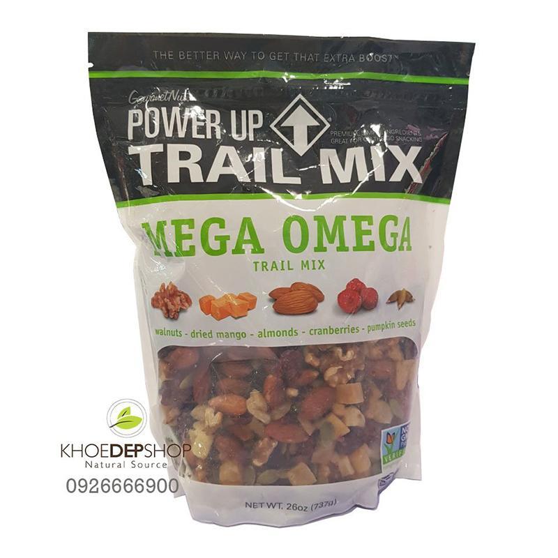 Hạt Trái Cây Sấy Tổng Hợp Mega Omega Trail Mix Mỹ 737g