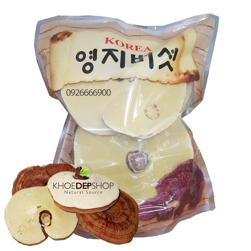 Nấm Linh Chi Núi Đá Cao Cấp Hàn Quốc - Túi 1kg
