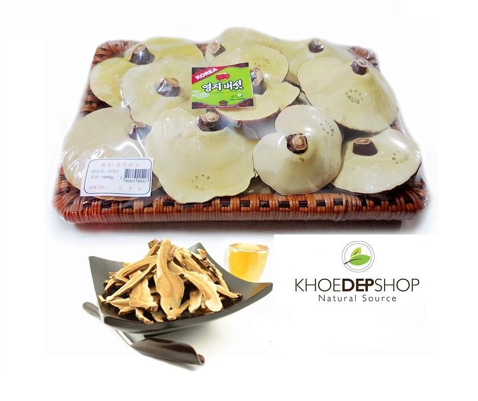 Nấm Linh Chi vàng Đóng Khay Hàn Quốc - Khay 1kg