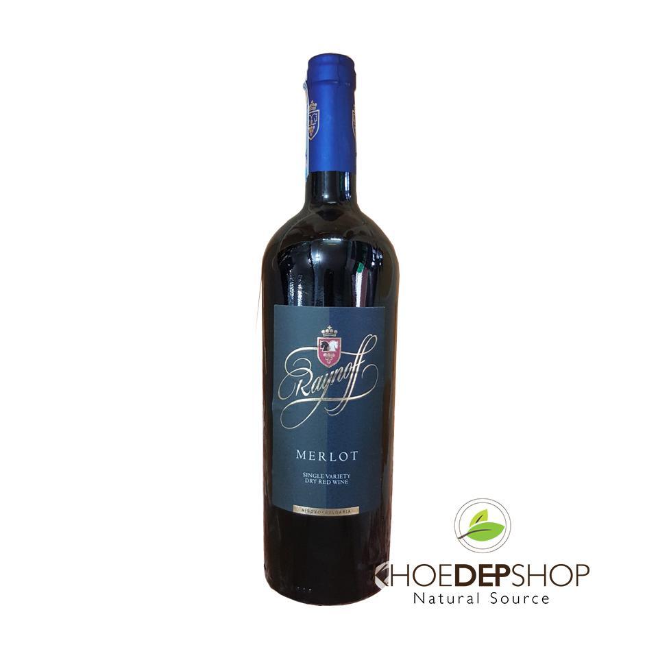 Rượu Vang Raynoff Merlot