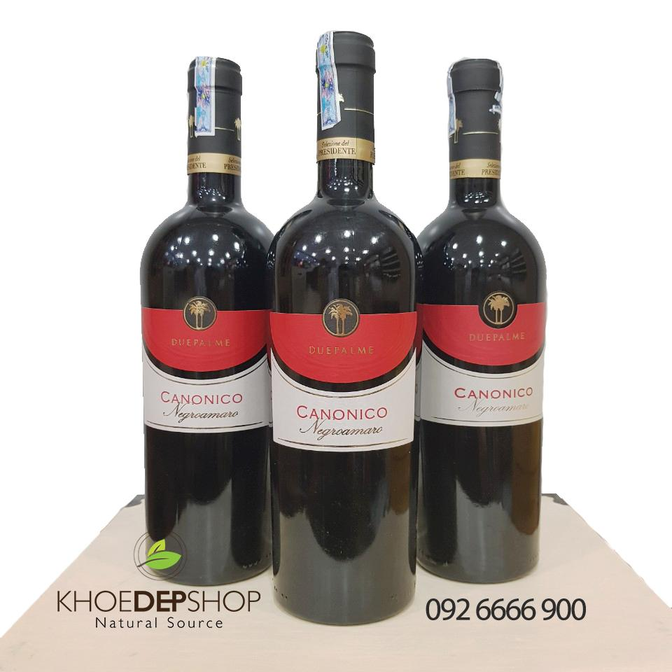 Vang Đỏ Ý CANONICO 13.5%