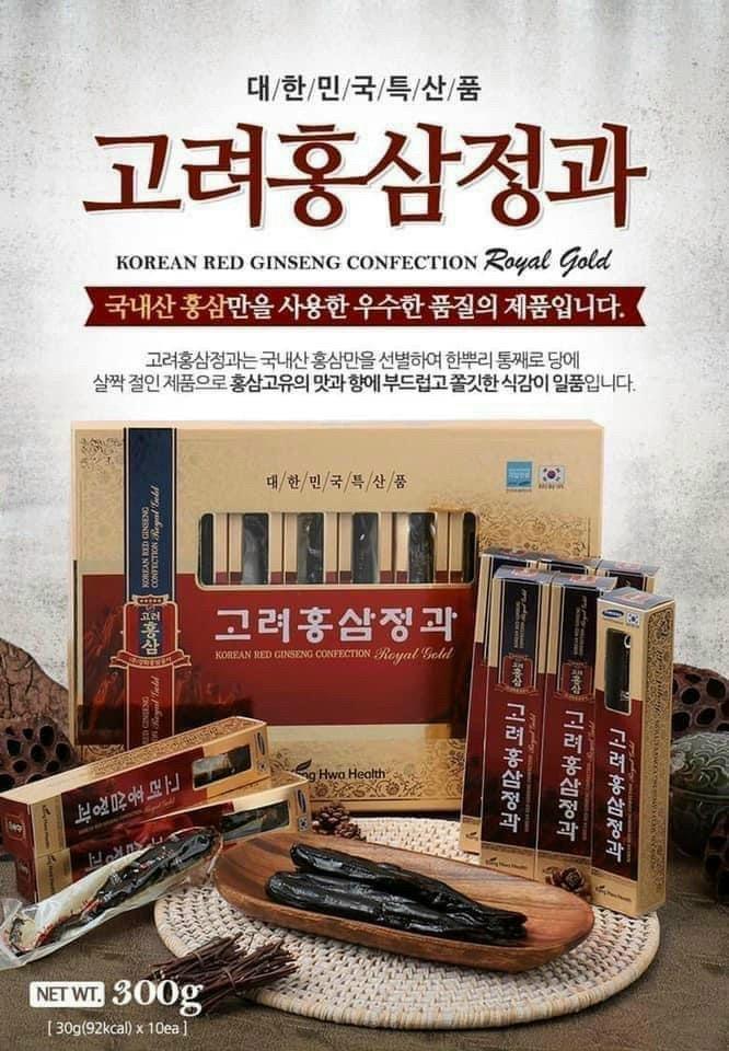 Sâm Củ Tẩm Mật Ong KangHwa Health Hàn Quốc - 300g
