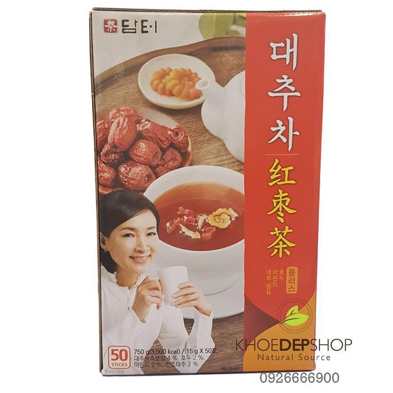 Trà Táo Đỏ Hàn Quốc 50 gói x 15g